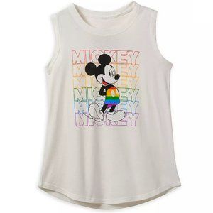 Rainbow Disney Collection Mickey Mouse Tank Top